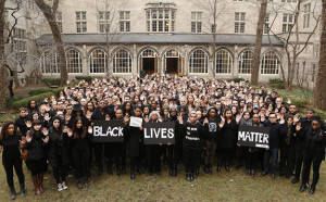 Northwestern Law School's #handsupdontshoot solidarity action [Reprinted with permission.]