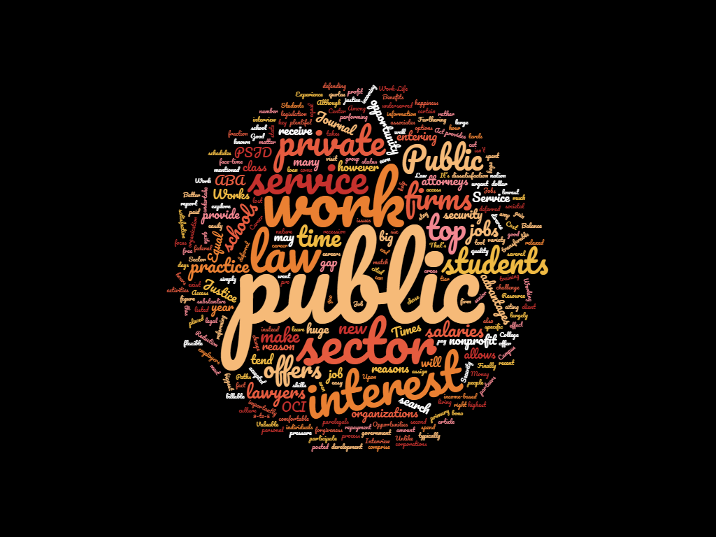 The PSJD Blog » *Guest Post* – The Benefits of Working in Public
